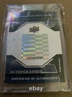 Wayne Gretzky autograph 2/5 Upper Deck 19-20 Buybacks